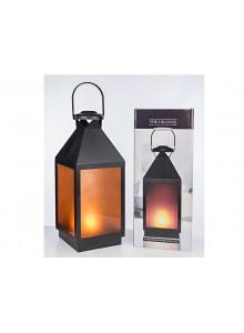 The Grange Collection Fire Effect Lantern Medium