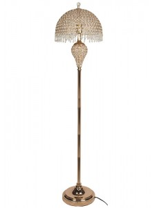The Grange Collection Floor Lamp (crystal shade)
