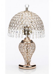 The Grange Collection Table Lamp (crystal shade)