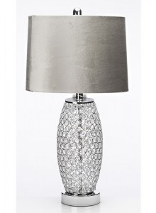 The Grange Collection Table Lamp (grey shade)