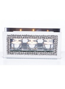 The Grange Collection Harlow 3 Piece Candle Holder