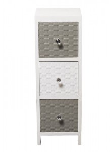 The Grange Collection Estorial 3-Drawer Cabinet - 24x25x70
