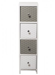 The Grange Collection Estorial 4-Drawer Cabinet - 24x25x91