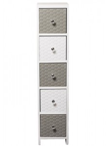 The Grange Collection Estorial 5-Drawer Cabinet - 24x25x112