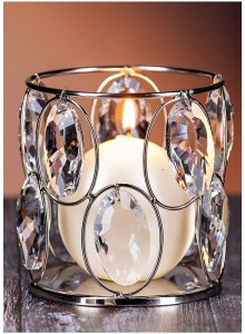 The Grange Collection Crystal Tealight Holder