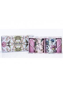Emma James Bone China Flower Design Mugs