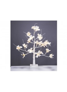 The Grange Christmas 60cm Flower Tree with Lights