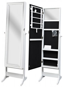 The Grange Jewellery Cabinet - White