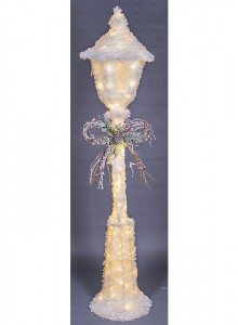 The Grange Christmas Lamp Post with LED