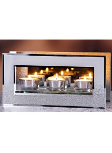 The Grange Collection Lucy 3-Piece Candleholder