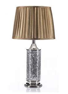 The Grange Collection Chrome Mosaic Lamp