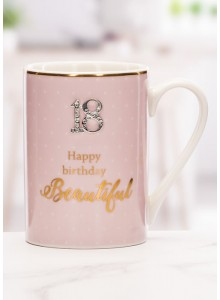 The Grange Collection 18 Happy Birthday Beautiful Mug