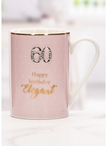 The Grange Collection 60 Happy Birthday Beautiful Mug