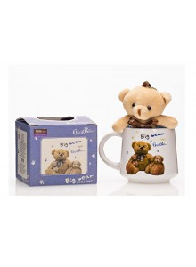 The Grange Collection Blue Teddy Mug