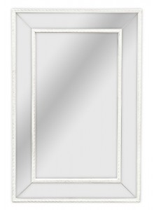 The Grange Collection Antique White Mirror - 60x90