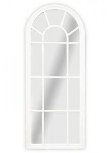 The Grange Interiors Medium White Window Mirror