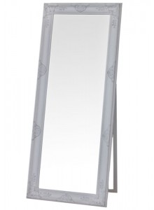 The Grange Interiors Antique White Mirror - 70x170cm