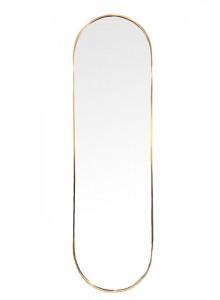 The Grange Interiors Brushed Gold Mirror 60x180cm
