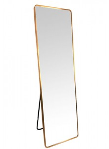The Grange Interiors Brushed Gold Cheval Mirror 50x170cm