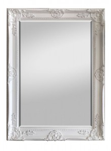The Grange Collection Antique White Mirror - 80x110
