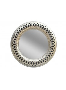 The Grange Collection Champagne Round Mirror - 90x90