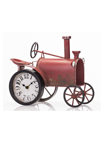 The Grange Collection Tractor Table Clock - 30x14x25cm