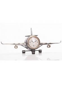 The Grange Collection Medium Aeroplane Table Clock - 41x8x17cm