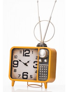 The Grange Collection Medium Television Table Clock - 25x11x48cm