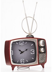 The Grange Collection Large Television Table Clock - 30x10x48cm