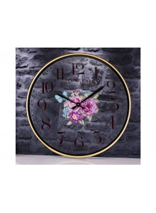 The Grange Collection Rose Wall Clock 60cm