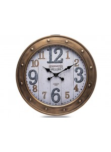 The Grange Collection Iron Glass Wall Clock 60cm