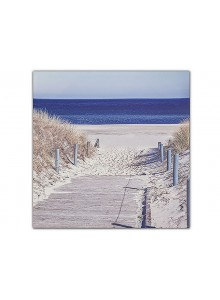 The Grange Collection Beach Canvas 80x80cm