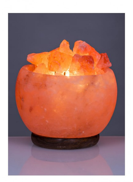 Himalayan Salt Bowl Lamp