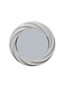The Grange Collection Mirror - 90x90 - Glossy White