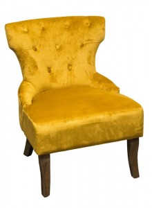 The Grange Interiors Chair - Yellow - H62cm x L69cm x W82cm