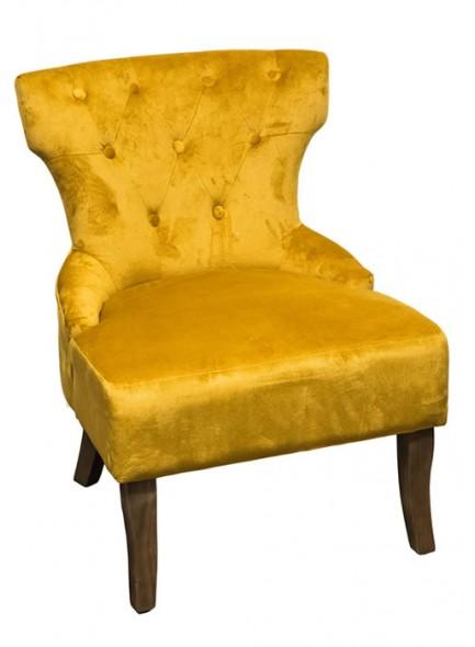 The Grange Interiors Chair - Yellow - H62cm x L69cm x W82cm