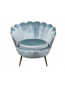 The Grange Collection Cara Chair - 85x78x73 - Teal