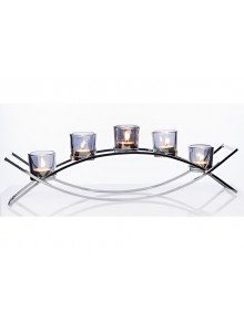 The Grange Collection 5-Glass Candle Holder