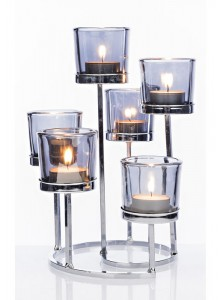 The Grange Collection 6-Glass Candle Holder