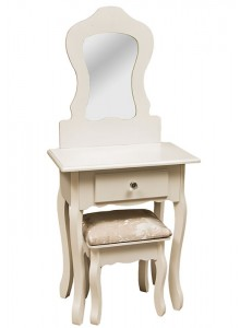 The Grange Collection Kids Dressing Table with Stool