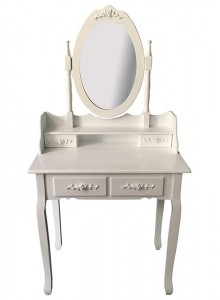 The Grange Collection Melissa Dressing Table and Stool