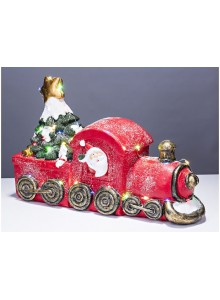 The Grange Christmas Train LED Lights, 44cm