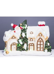 The Grange Christmas House LED Lights, 38cm