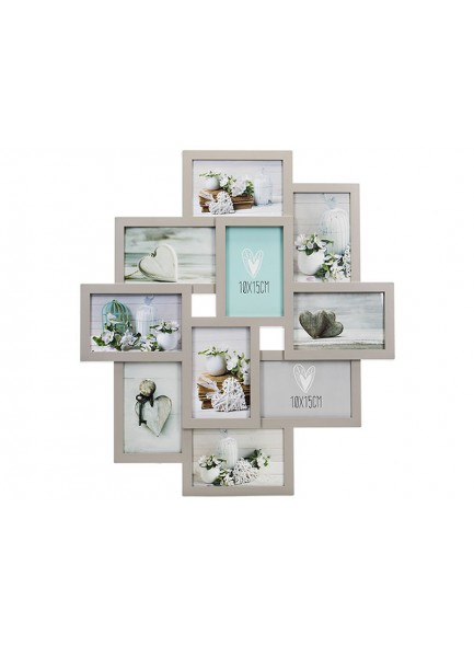 The Grange Collection Grey 10-Photo Gallery Frame
