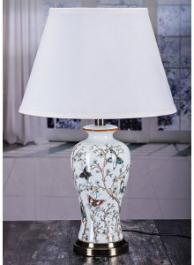 The Grange Collection Butterfly Table Lamp - 22x36x24cm