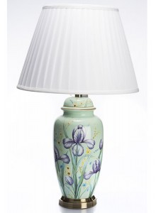 The Grange Collection Flower Lamp (Teal)