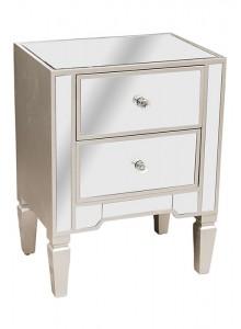 The Grange Collection Emma 2-Drawer Locker