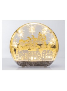 The Grange Collection Village Globe with Lights