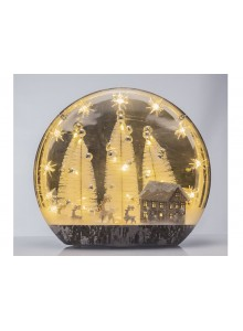 The Grange Collection LED Christmas Night Globe
