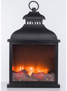 The Grange Collection Fireplace Lantern
